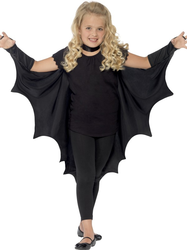 Halloween - Dětský plášť Upíří křídla