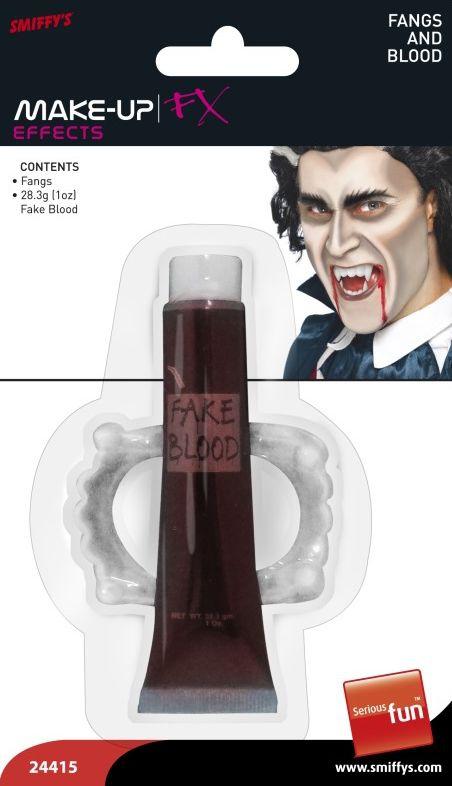 Karnevalové doplňky - Krev a zuby
