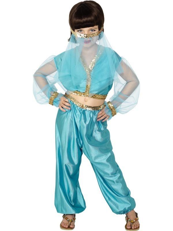 Princezny-Víly - Dětský kostým Arabská princezna I