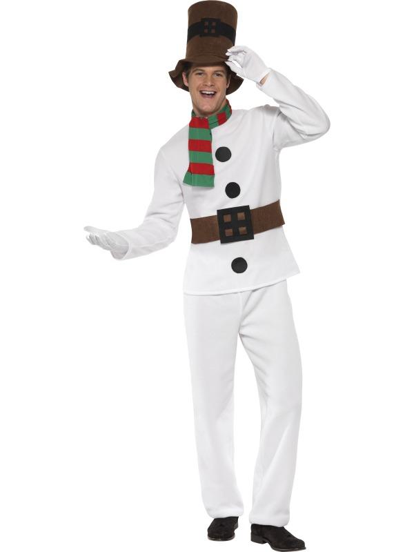 Pánské kostýmy - Kostým Sněhulák pro dospělé