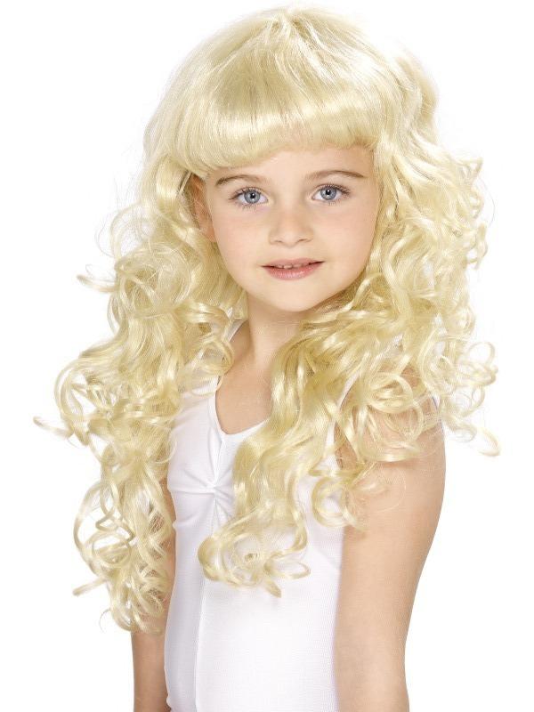 Paruky - Dětská paruka Princezna blond