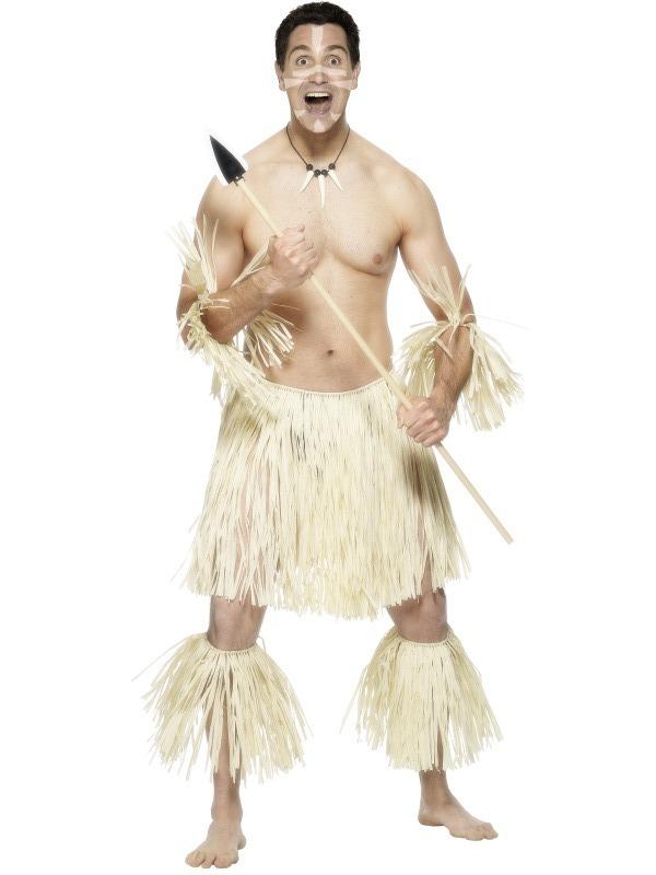 Pánské kostýmy - Kostým Pralesní bojovník