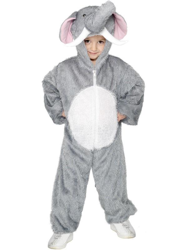 Zvířecí kostýmy - Dětský kostým Slon 7-9 roků