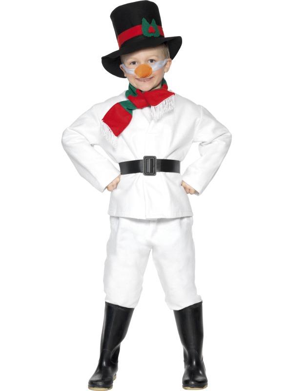 Dětské karnevalové kostýmy - Dětský kostým Sněhulák