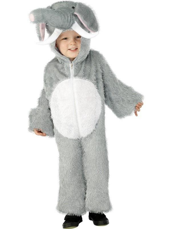 Zvířecí kostýmy - Dětský kostým Slon 4-6 roků