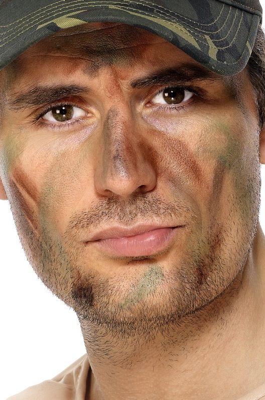 Líčidla a kosmetika - Sada líčidel Army