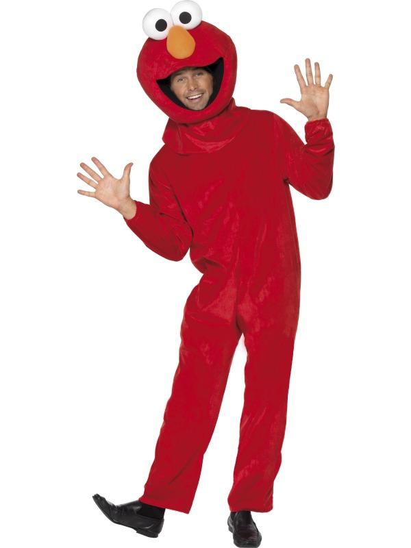 Zvířecí kostýmy - Kostým Sesame street Elmo