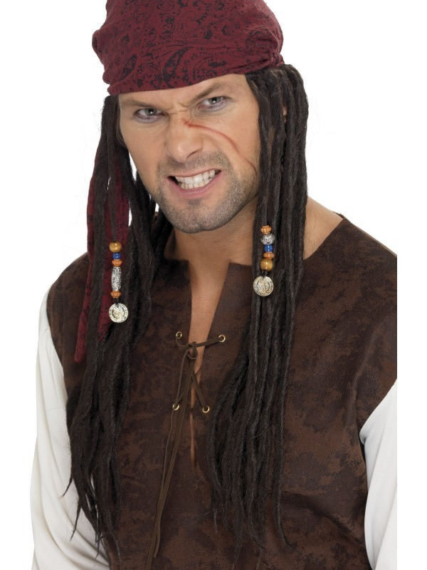 Paruky - Paruka piráta
