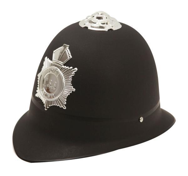 Klobouky-čepice-čelenky - Policejní helma