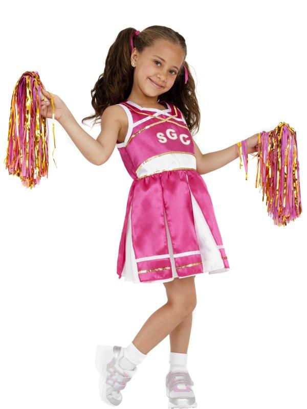 Dětské karnevalové kostýmy - Dětský kostým Roztleskávačka