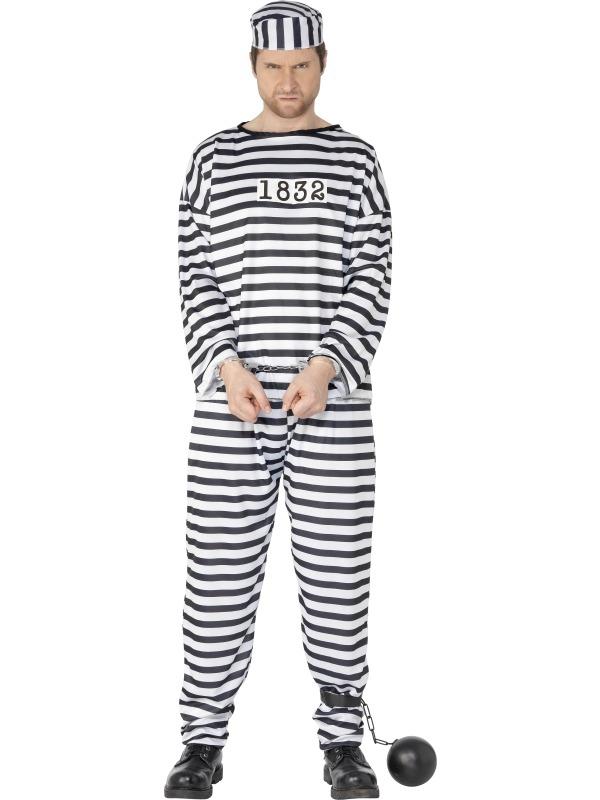 Pánské kostýmy - Kostým Vězně
