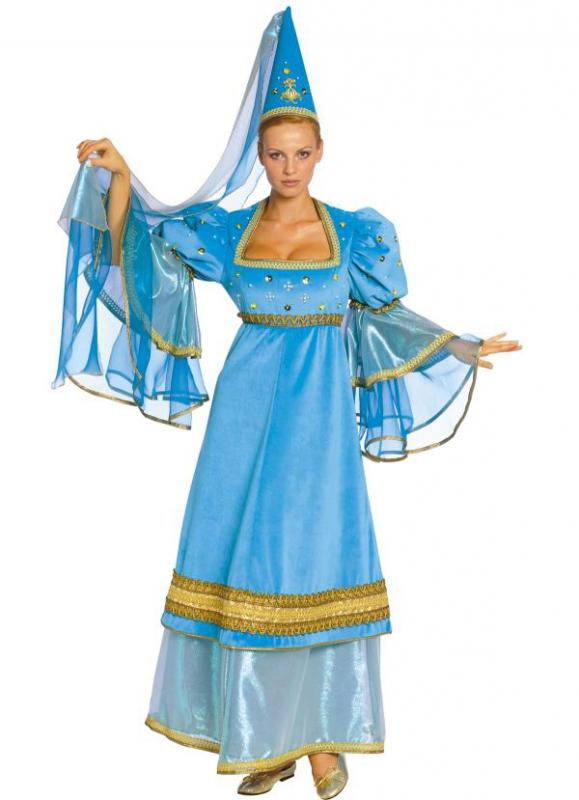 Princezny-Víly - Dámský kostým Středověká princezna