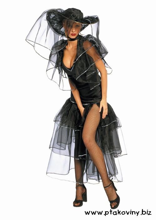 Dámské kostýmy - Kostým Šťastná vdova