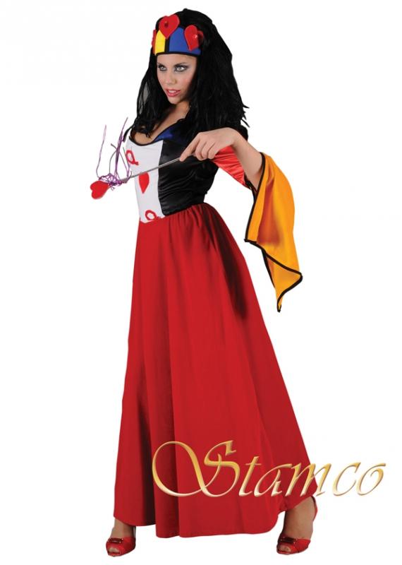 Princezny-Víly - Kostým Královna I