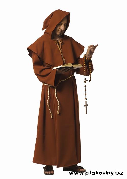 Pánské kostýmy - Kostým Mnich II
