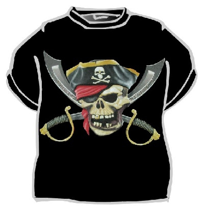 Piráti - Pirátské triko
