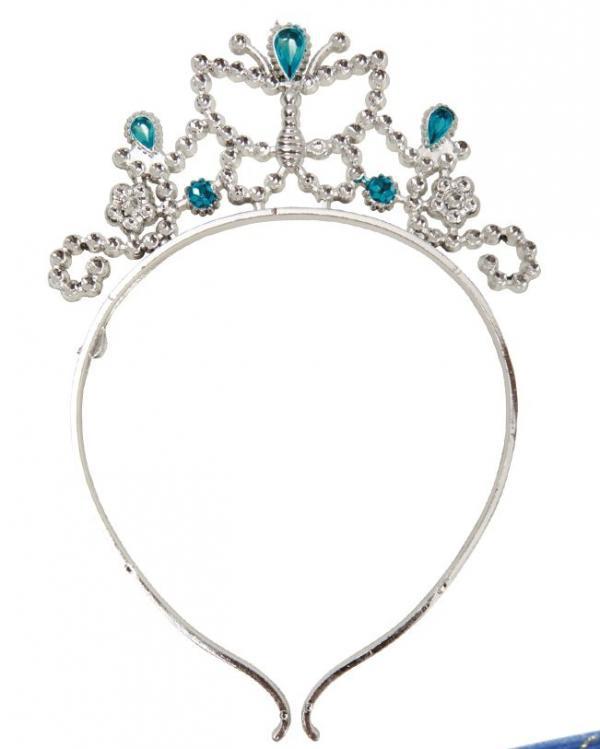 Princezny-Víly - Čelenka pro princezny modrá