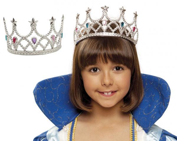 Princezny-Víly - Královská korunka stříbrná