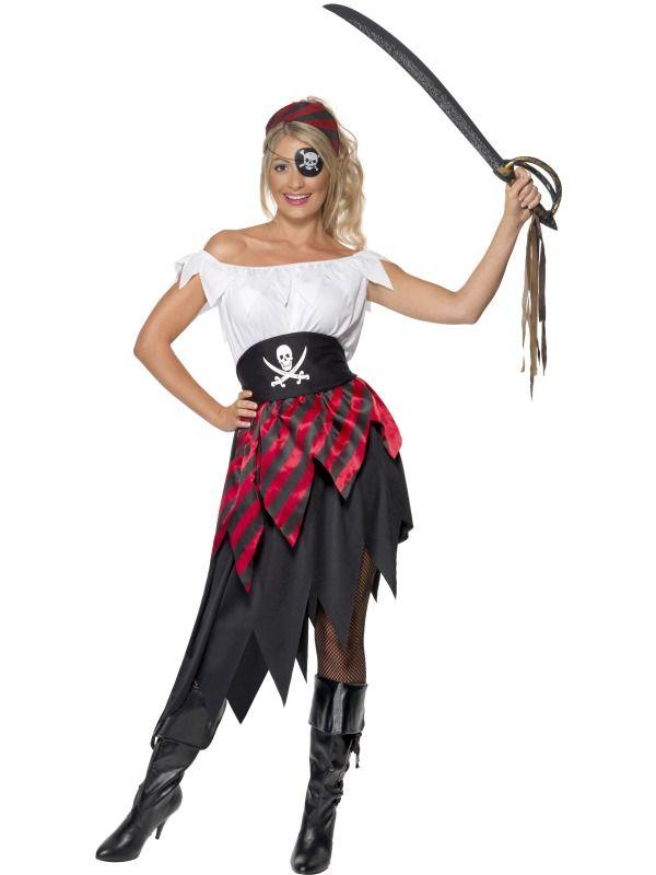 Piráti - Kostým Pirátská dívka