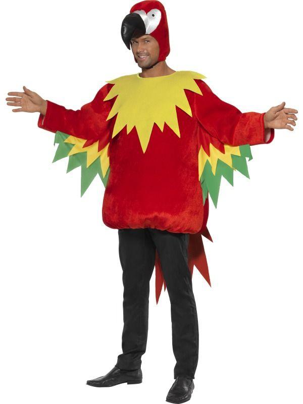 Zvířecí kostýmy - Kostým Papoušek I