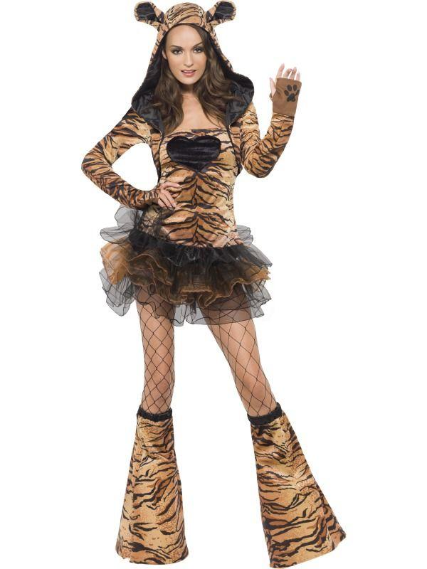 Zvířecí kostýmy - Kostým Sexy tygr