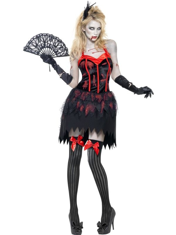 Halloween - Kostým Zombie burleska