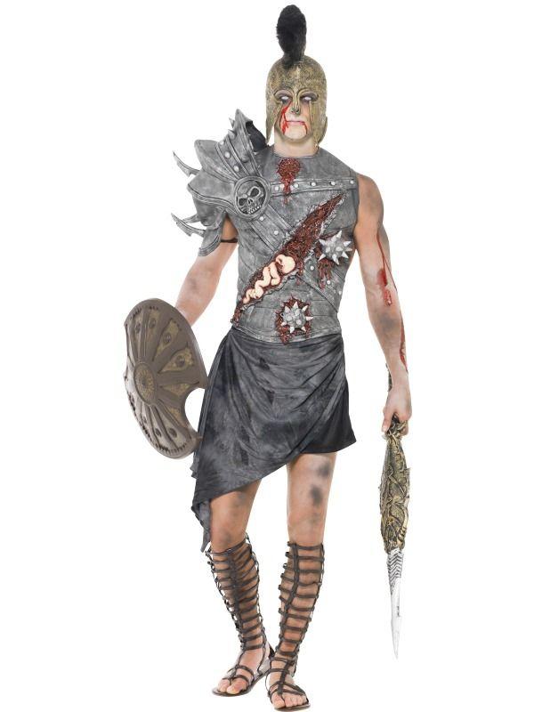 Halloween - Kostým Zombie gladiátor
