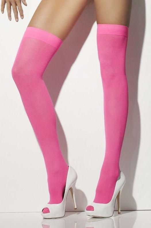 Karnevalové doplňky - Punčochy růžové