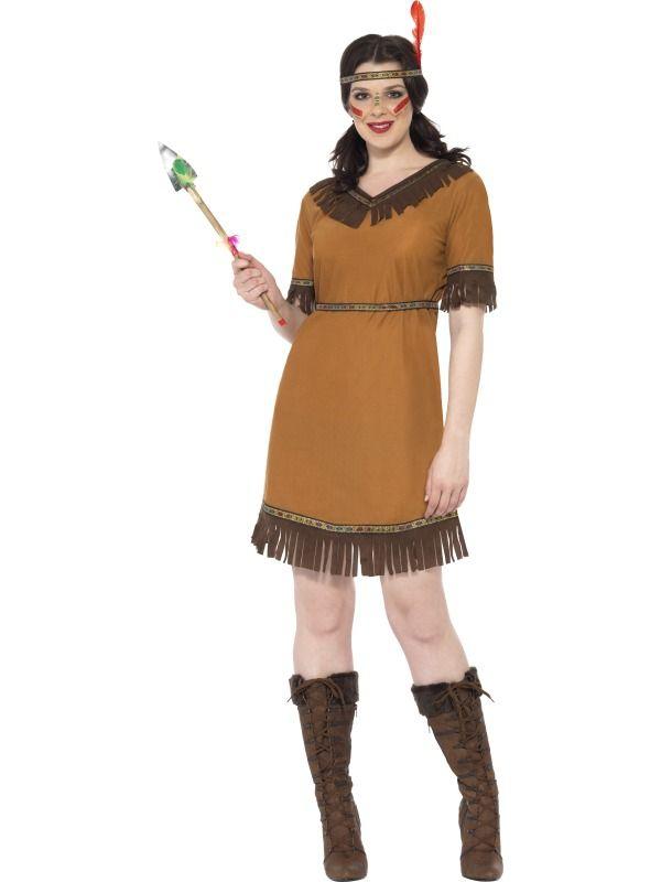 Indiáni - Kostým Indiánská dívka