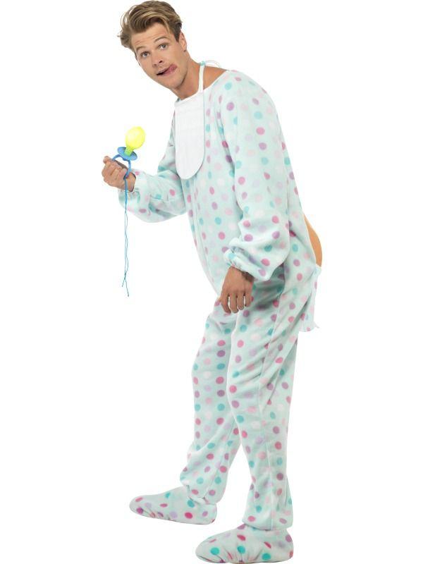 Pánské kostýmy - Kostým Mimino puntíky