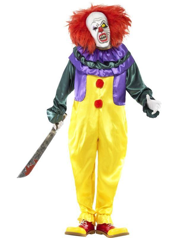 Halloween - Kostým Hororový klaun halloween