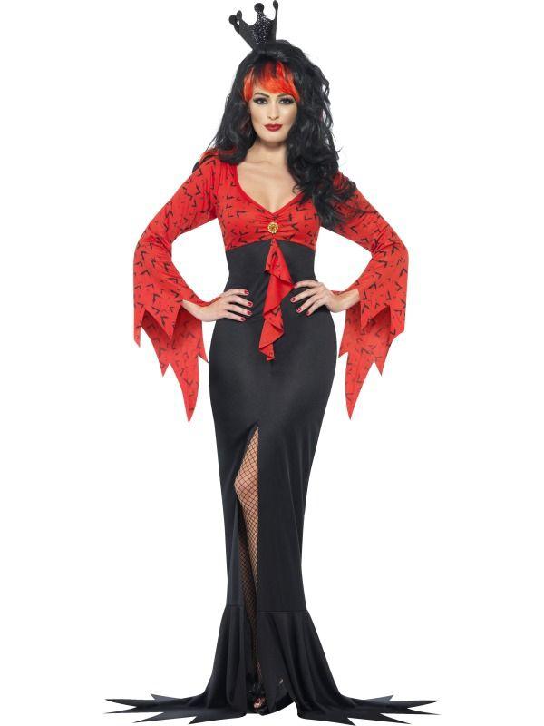 Halloween - Dámský kostým Královna ďáblů