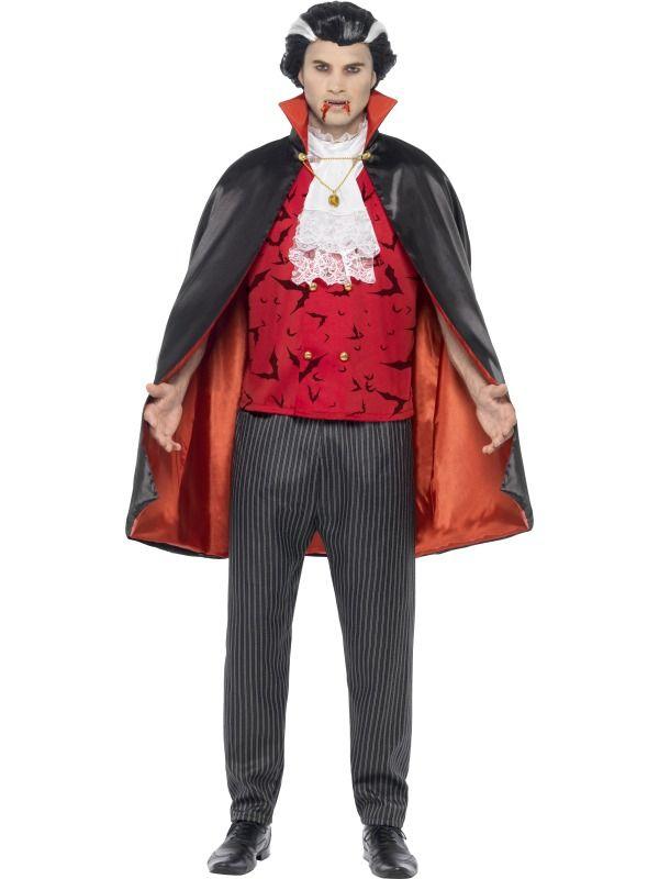 Halloween - Kostým Upíří lord