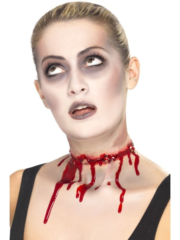 Halloween - Zranění Jizva na krku