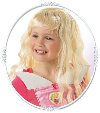 Princezny-Víly - Dětská paruka Růženka