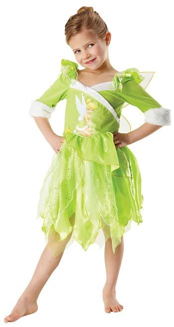 Princezny-Víly - Dětský kostým Zvonilka zimní