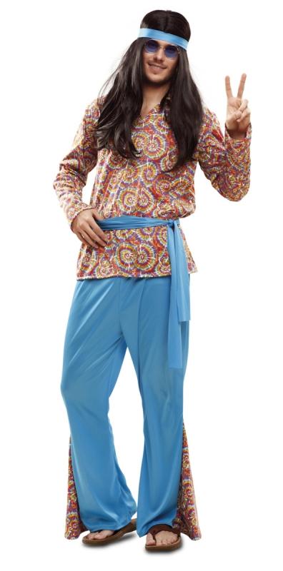 Hippie - Kostým hippisáka