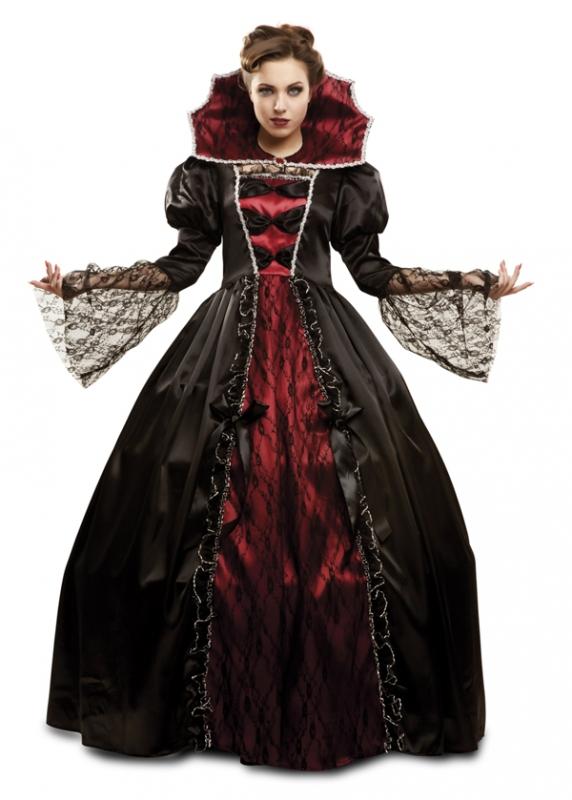 Halloween - Kostým Vampírka deluxe