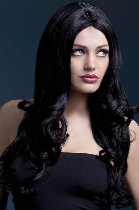 Paruky - Paruka Rhianne černá