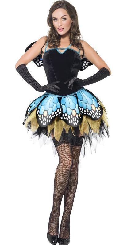 Zvířecí kostýmy - Kostým Sexy motýlek