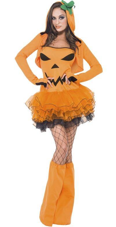 Halloween - Kostým Sexy dýně