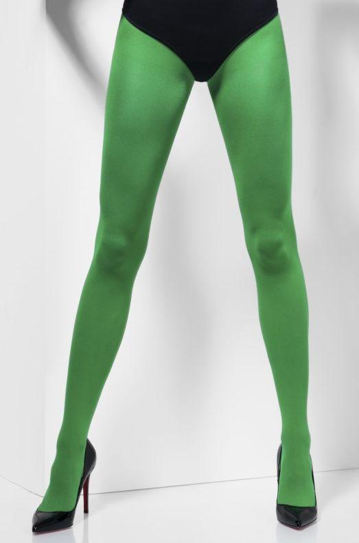 Karnevalové doplňky - Punčocháče zelené