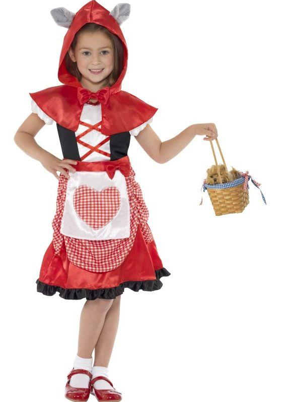 Filmové a pohádkové postavy - Dětský kostým Červená Karkulka