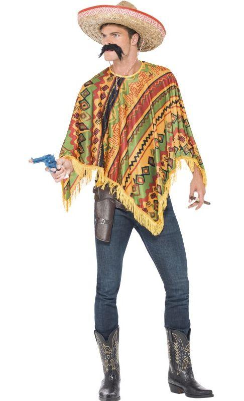 Pánské kostýmy - Mexický kostým  - Poncho