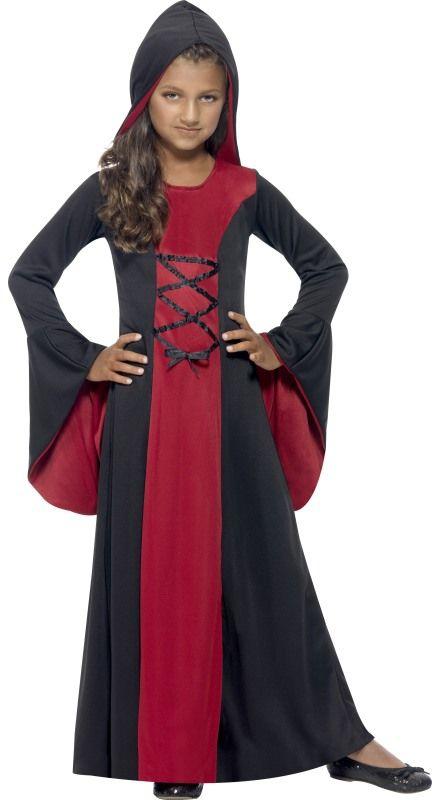 Halloween - Dětský kostým Vampírka I