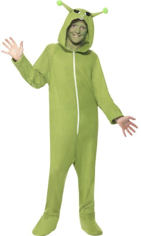 Halloween - Dětský kostým Mimozemšťan