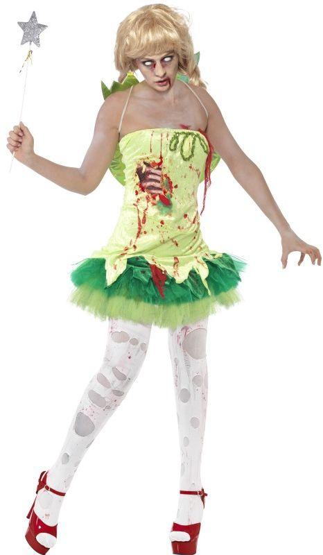 Halloween - Kostým Zombie víla