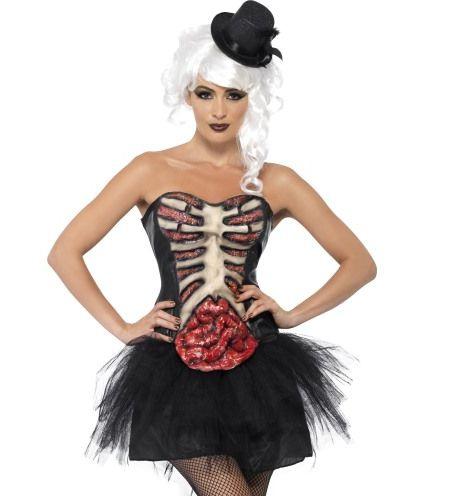 Halloween - Korzet Zombie burleska
