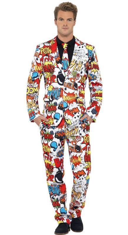 Pánské kostýmy - Kostým Komik oblek