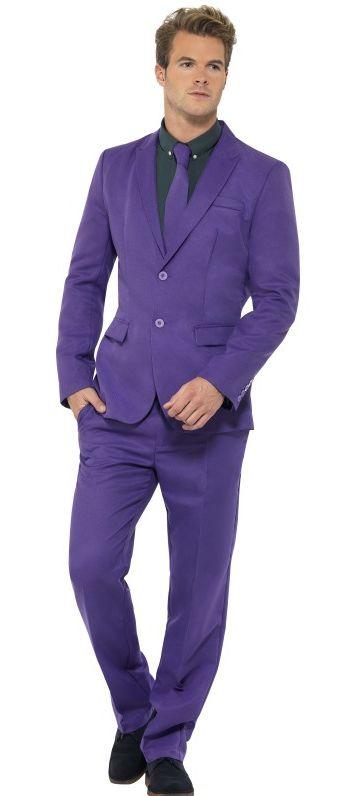 Pánské kostýmy - Kostým Fialový oblek
